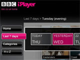 3.5m shows accessed on iPlayer since Xmas