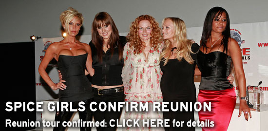 Spice Girls confirm reunion tour - click here for details