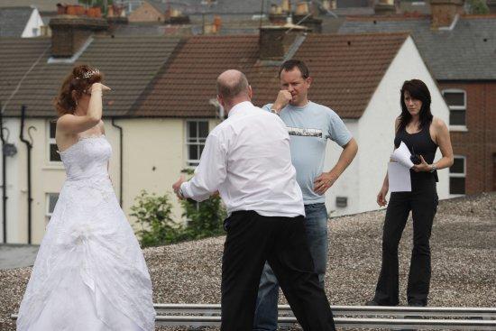 Eastenders ben and stella wedding dress
