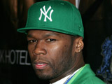 50 Cent 'serenades' Carrey on stage