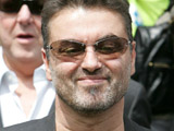 George Michael hangs out with Rob Thomas
