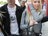 Lavigne reunites with ex-husband Whibley?