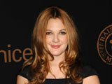 Barrymore injures herself on film set