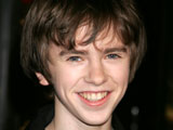 Freddie Highmore voicing 'AstroBoy'