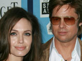 Jolie: 'Brad and I fell in love on film'