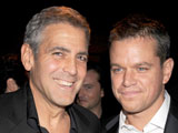 Damon: 'Clooney girlfriend is wonderful'