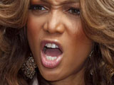 Tyra Banks: 'I was a geek at school'