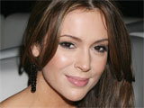 Alyssa Milano donates birthday to charity