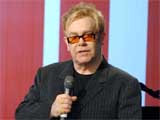Elton clashes with Allen at awards bash