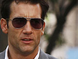 Clive Owen signs for 'Protection'