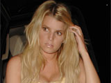 Jessica Simpson 'in second earthquake'