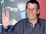 'Trek' writers 'intimidated' by Nimoy
