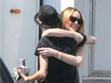 Lohan: 'Ronson calms me down'
