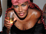 Grace Jones in 'diva rage' at Bond party