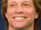 Jon Bon Jovi enters Hall Of Fame