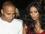 Hamilton and Scherzinger engaged?