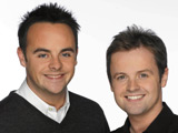 Ant and Dec come under fire in Afghanistan