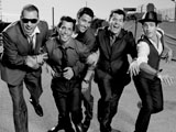 New Kids perform on cruise ship