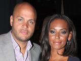 Mel B shaken after airport threats