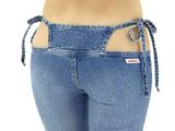 Japanese designer creates 'bikini jeans'