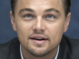 DiCaprio 'tipped over golf cart' on set