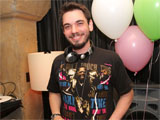 DJ AM's girlfriend 'speaks at funeral'