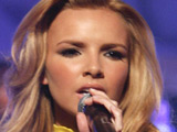 Nadine Coyle records with Matchbox 20 star