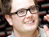 Promising start for Alan Carr chatshow