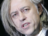 Geldof opens Band Aid-funded school