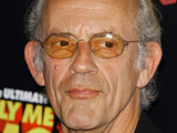 Christopher Lloyd goes 'Back To The Future'