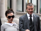 Posh, Becks pose for new Armani ads