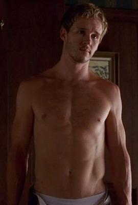 shirtless Ryan kwanten