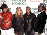Black Eyed Peas score US chart double
