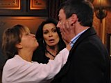 Maria lashes out at Tony in The Rovers