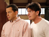'Two and a Half Men' leads CBS to victory
