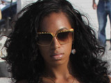 Solange collapses from medication