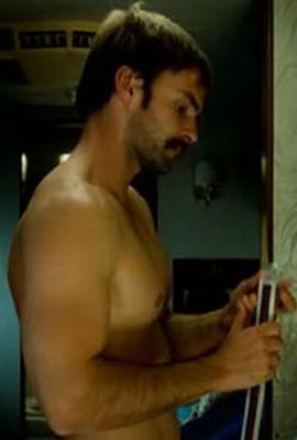 Naked gay mexican man