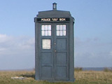'Doctor Who' fans buy Tardis shed