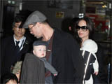 Jolie-Pitt children 'run amok' in hotel