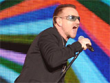 U2 play surprise Island birthday gig