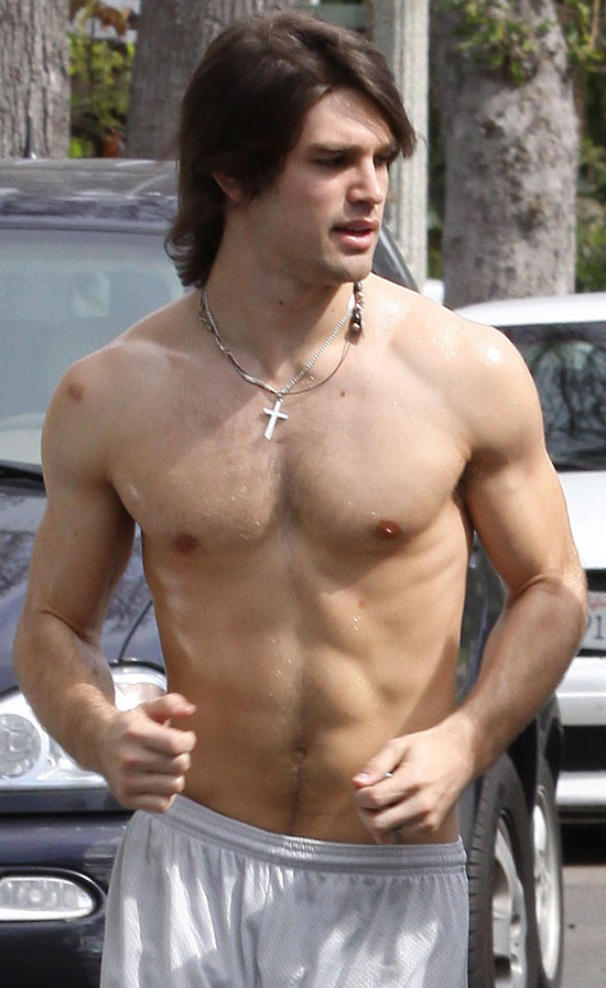 Last week, just after posting pictures of Matthew McConaughey exercising ...