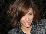 Longoria changes outfit eight times as host