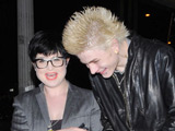 Kelly Osbourne and fiancé 'inseparable'