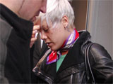 Pink 'leaves hotel over security fears'