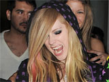 Avril Lavinge 'lets loose' in Las Vegas