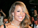 Mariah Carey 'recording album at night'