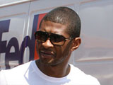 Usher's wife 'cleared of scratching his car'