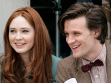 Matt Smith starts filming 'Doctor Who'
