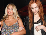 Ashlee Simpson defends sister's weight