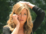 Aniston signs for Weiner movie debut 'Here'